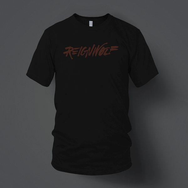 Logo Black T-Shirt by Reignwolf for sale on hellomerch.com
