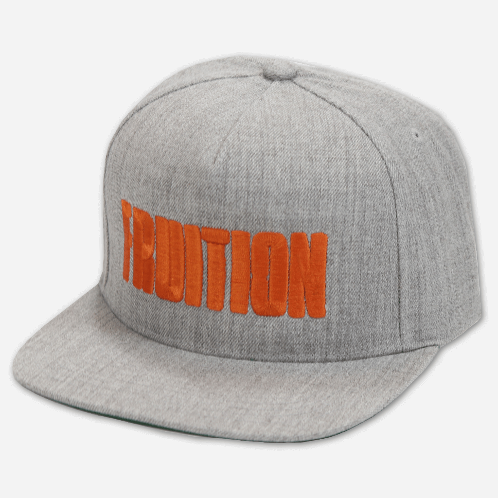 Fruition Grey Snapback Hat