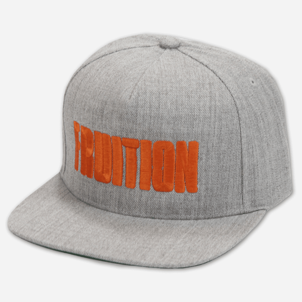 Fruition Grey Snapback Hat by Fruition for sale on hellomerch.com