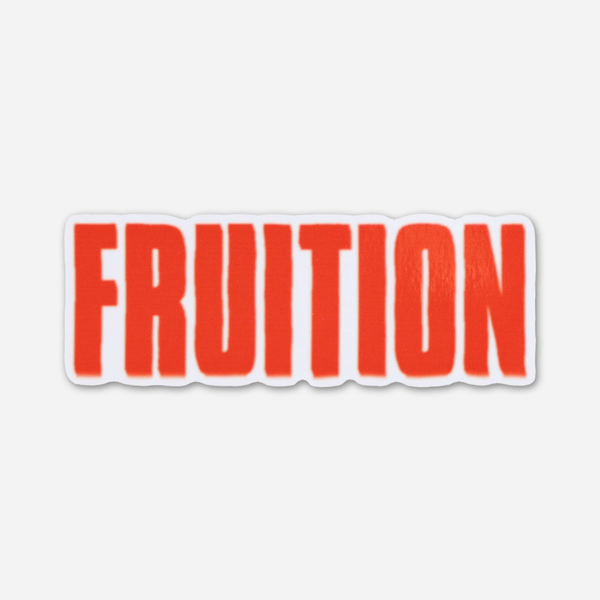 Logo Sticker by Fruition for sale on hellomerch.com