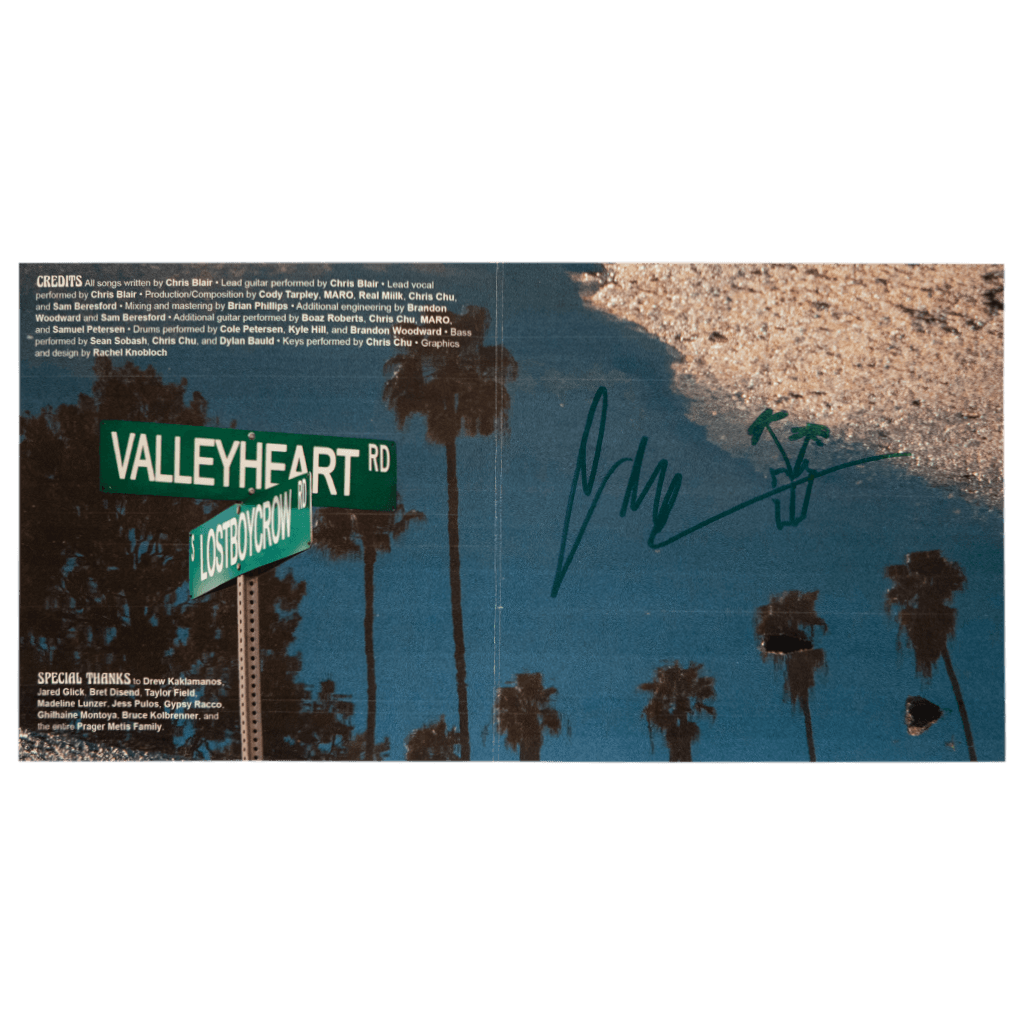 Signed Valleyheart CD