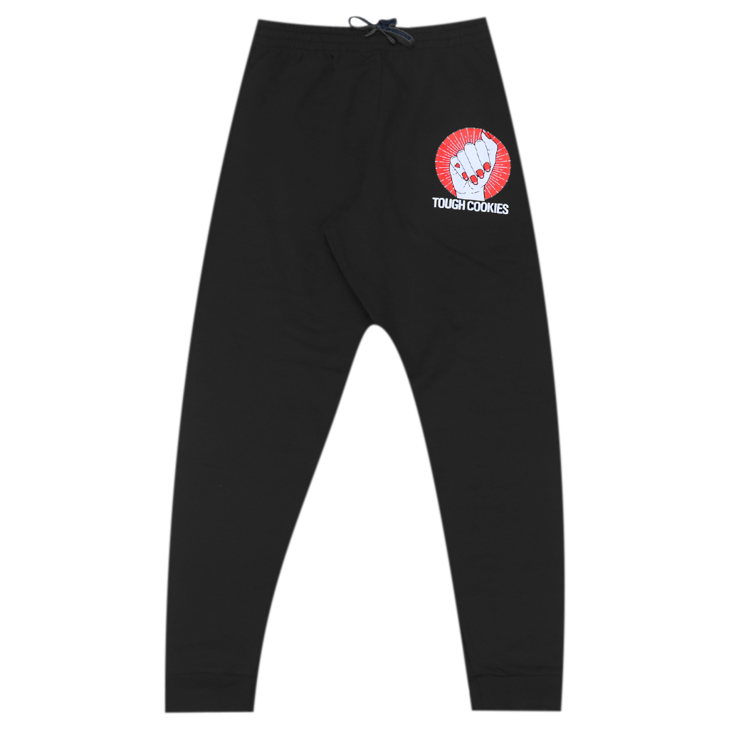 Tough Cookies Black Sweatpants