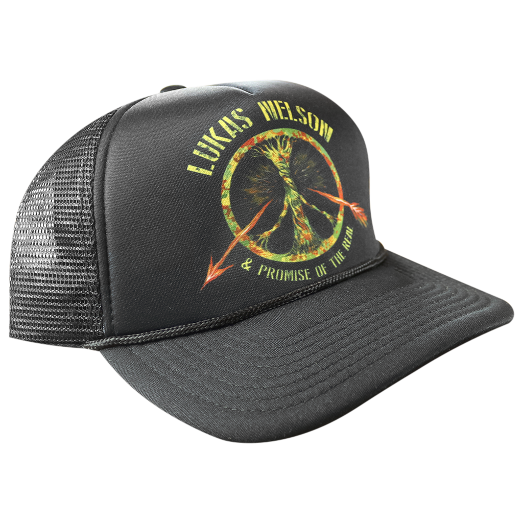 Broken Arrow Black Trucker Hat