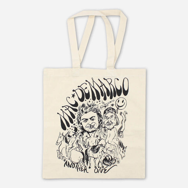 Mac DeMarco Another One Tote Bag by Mac DeMarco for sale on hellomerch.com