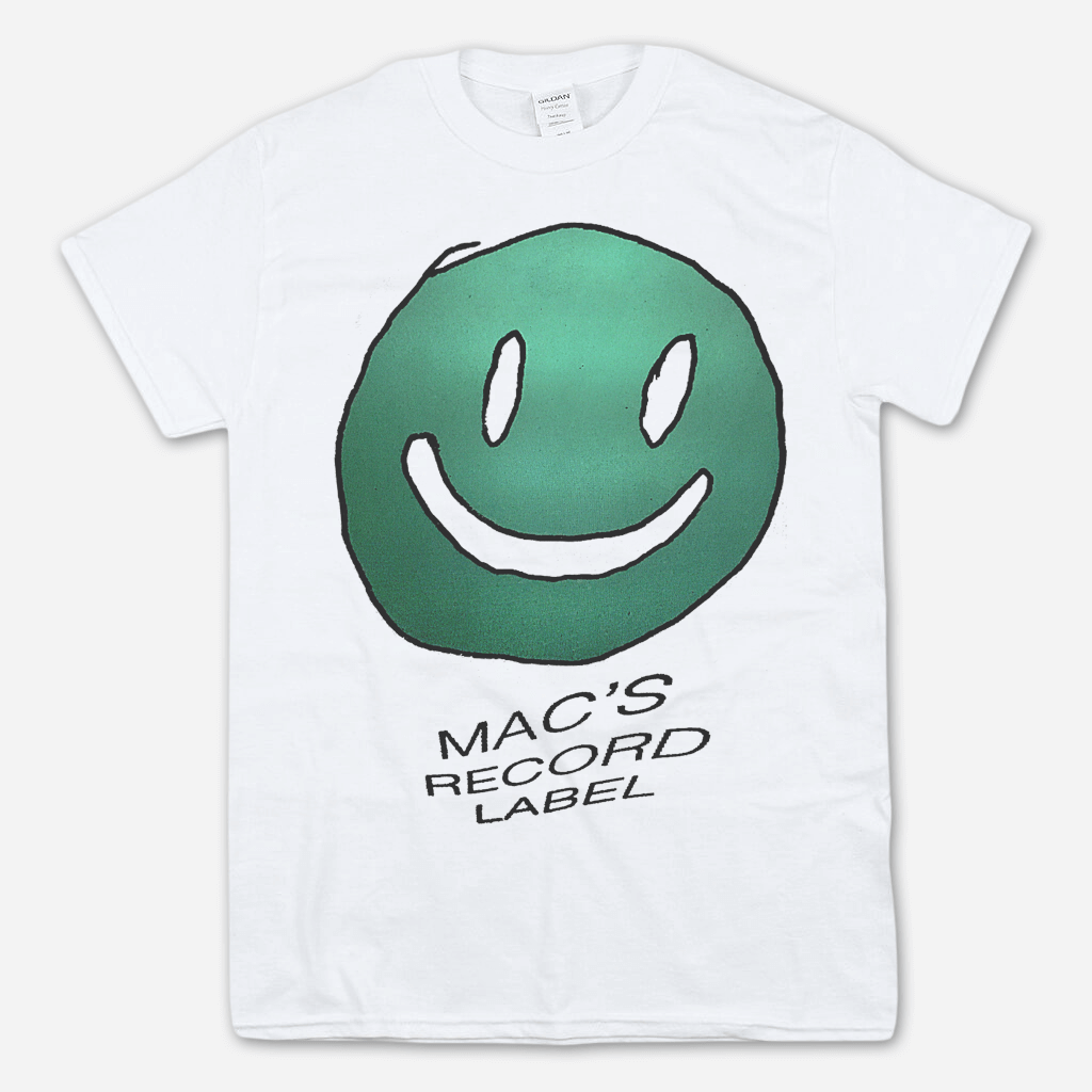 Mac's Record Label White T-Shirt