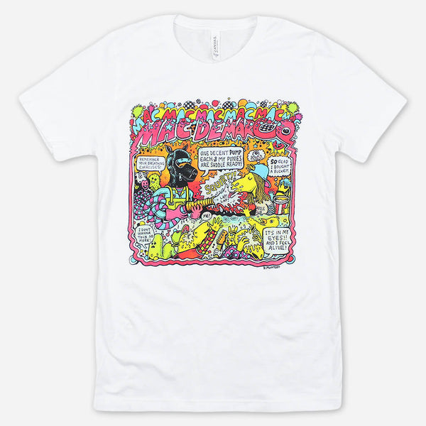 Montero Ponies White T-Shirt by Mac DeMarco for sale on hellomerch.com