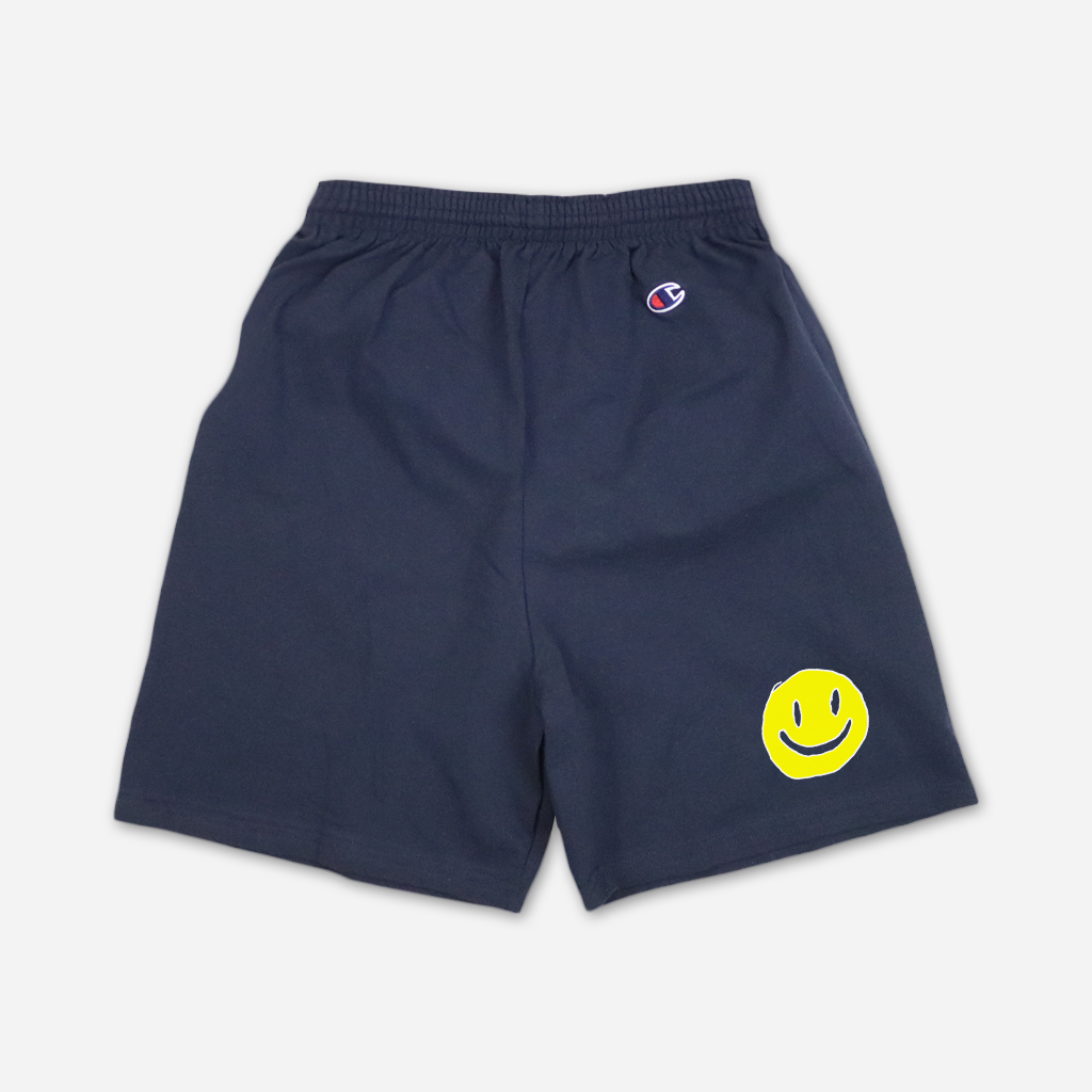 Smiley Navy Shorts