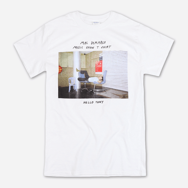 1340cbc2a2d Tony White T-Shirt by Mac DeMarco for sale on hellomerch.com