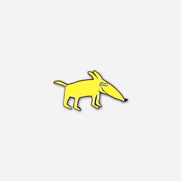 Mac Dog Pin by Mac DeMarco for sale on hellomerch.com