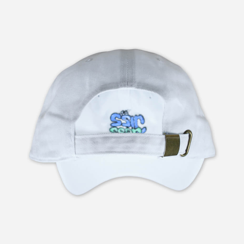 Jizz Jazz White Dad Hat - Mac DeMarco - Hello Merch