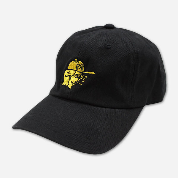 Portrait Black Dad Hat by Mac DeMarco for sale on hellomerch.com