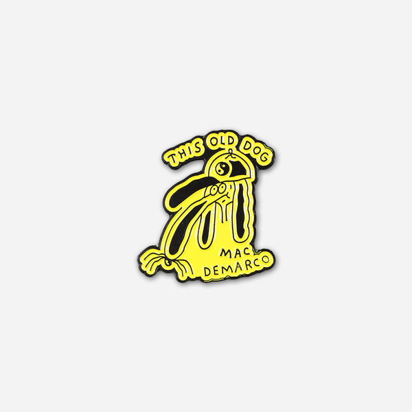 Dog Doodle Pin by Mac DeMarco for sale on hellomerch.com