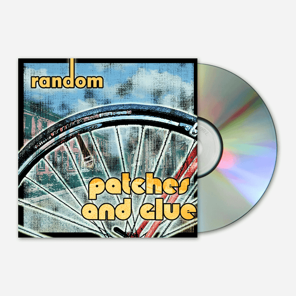 Patches and Glue CD by Mega Ran for sale on hellomerch.com