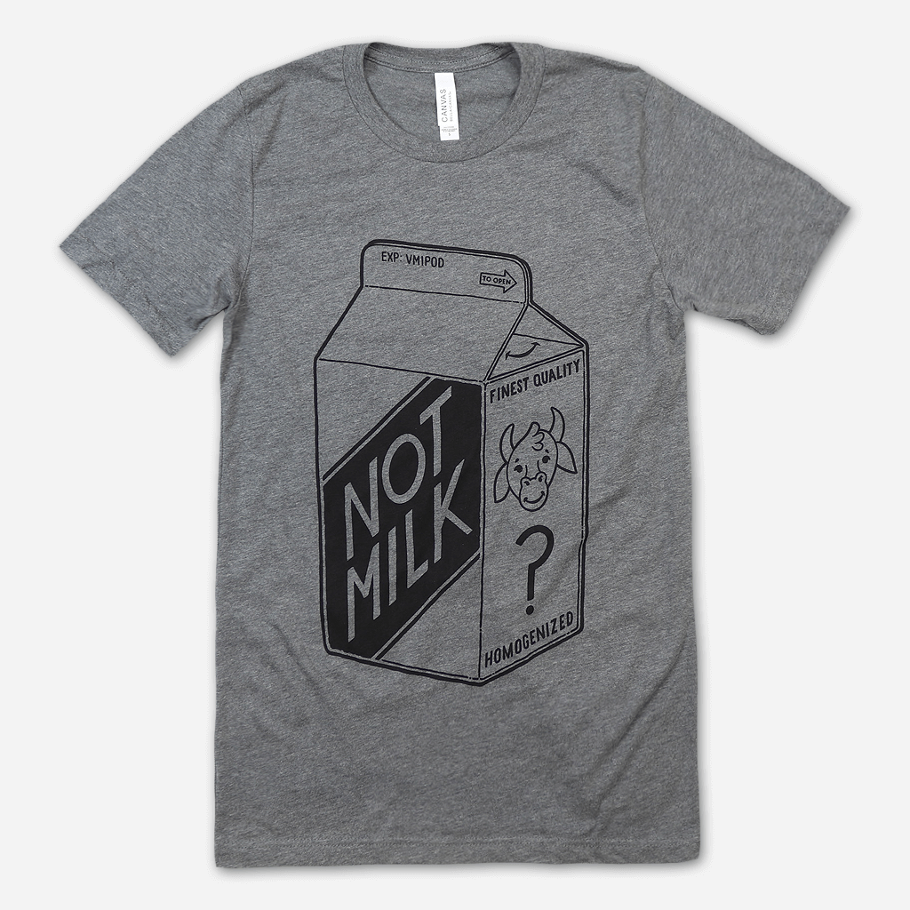 VMI Not Milk Heather Grey T-Shirt