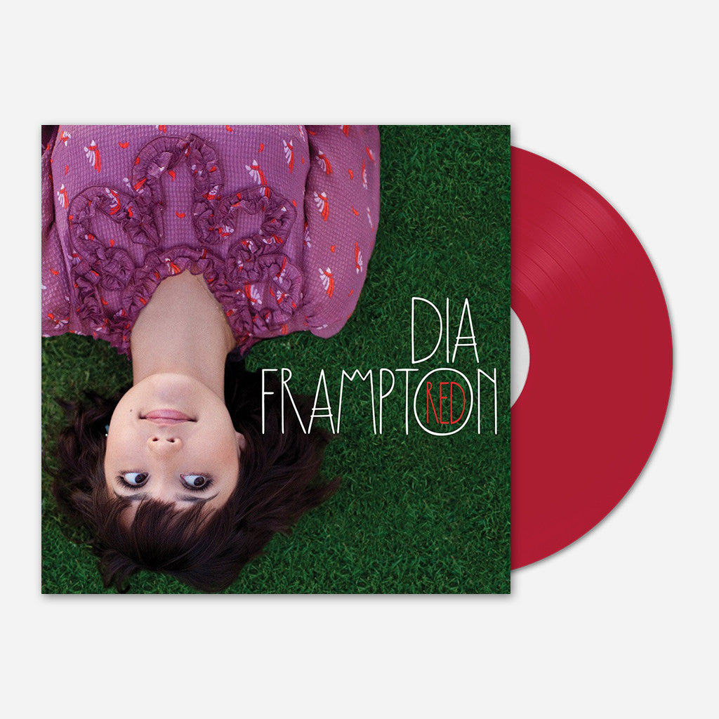 "Signed Red 12"" Vinyl"