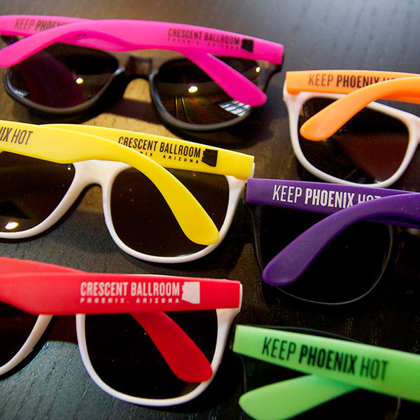 Keep Phoenix Hot Sunglasses by Crescent Ballroom for sale on hellomerch.com