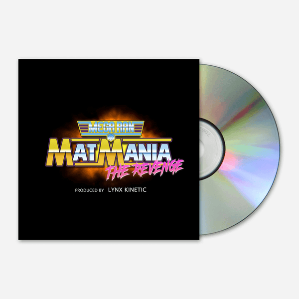 Mat Mania: The Revenge CD by Mega Ran for sale on hellomerch.com