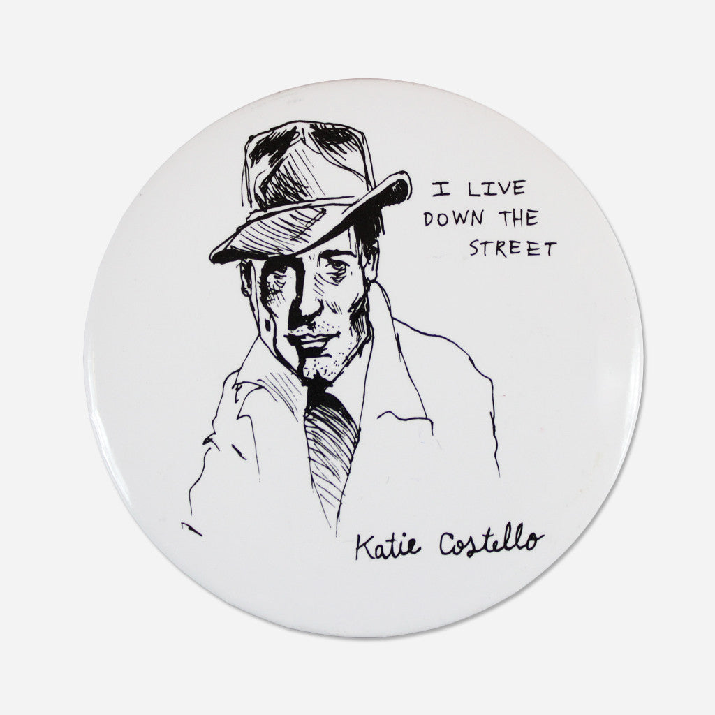 "Man In The Hat 2.5"" Button"