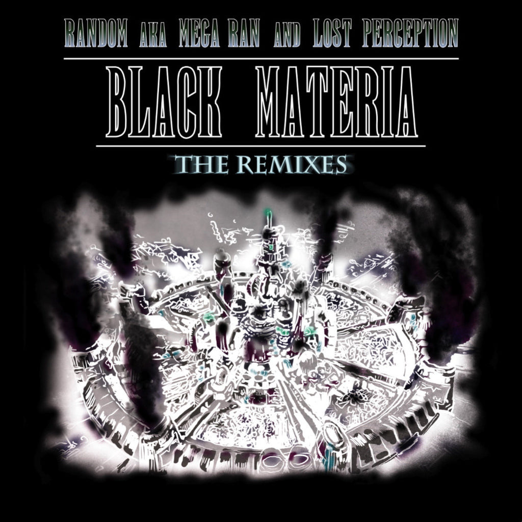 Black Materia: The Remixes CD - Mega Ran - Hello Merch