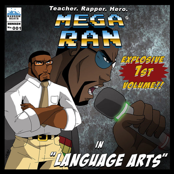 Mega Ran in Language Arts Volume 1 CD by Mega Ran for sale on hellomerch.com
