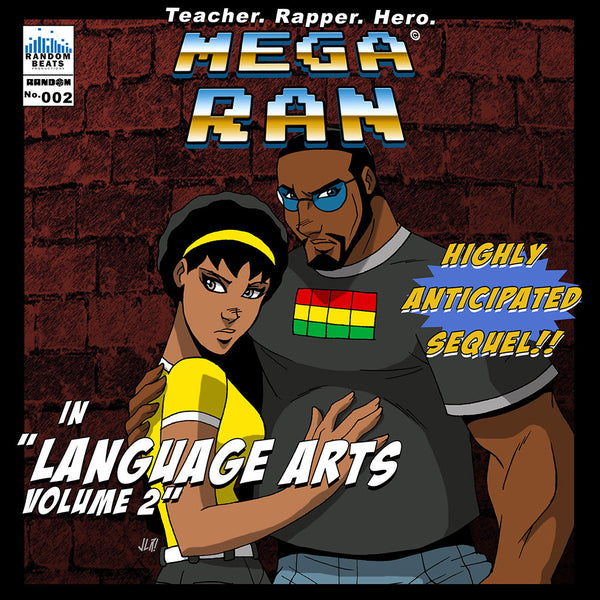 Mega Ran in Language Arts Volume 2 CD by Mega Ran for sale on hellomerch.com