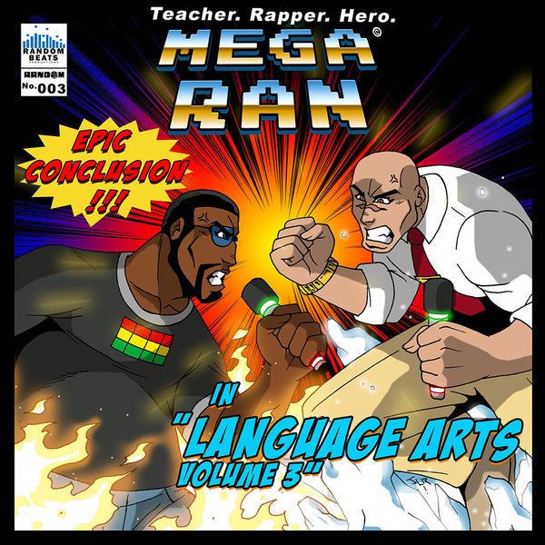 Mega Ran in Language Arts Volume 3 CD by Mega Ran for sale on hellomerch.com
