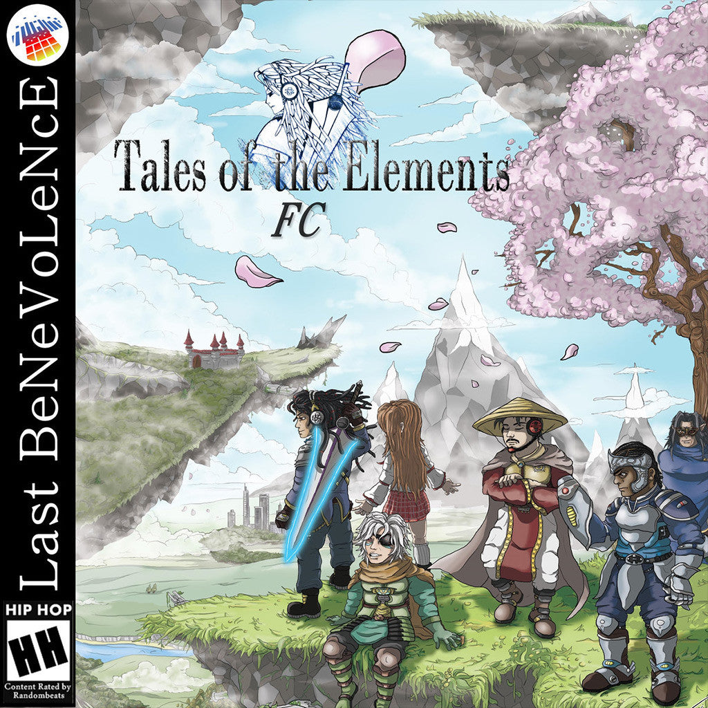 Last BeNeVoLeNcE - Tales Of The Elements FC CD