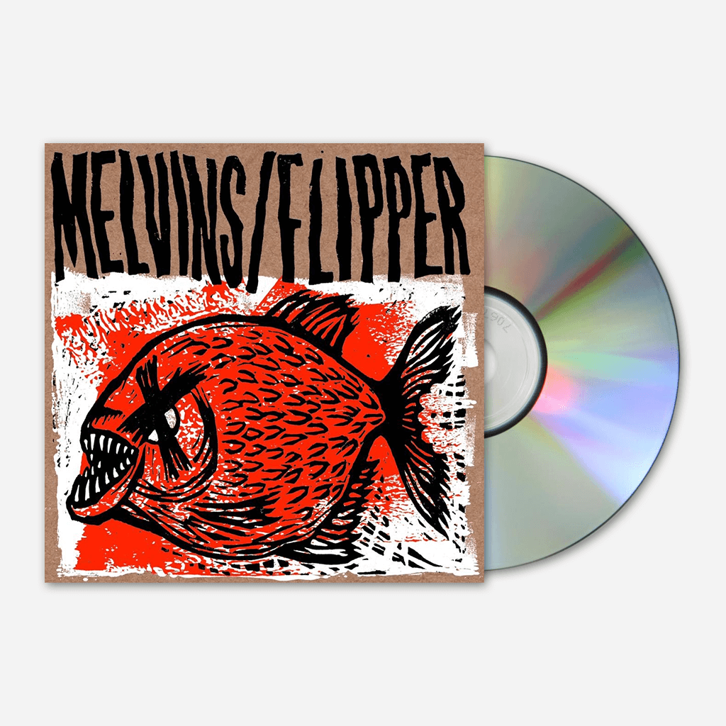 Melvins/Flipper Hot Fish CD