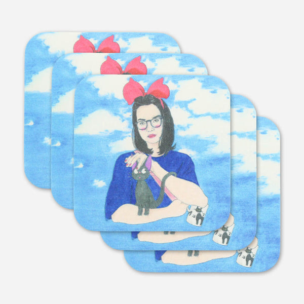 Mitski Coaster by Mitski for sale on hellomerch.com