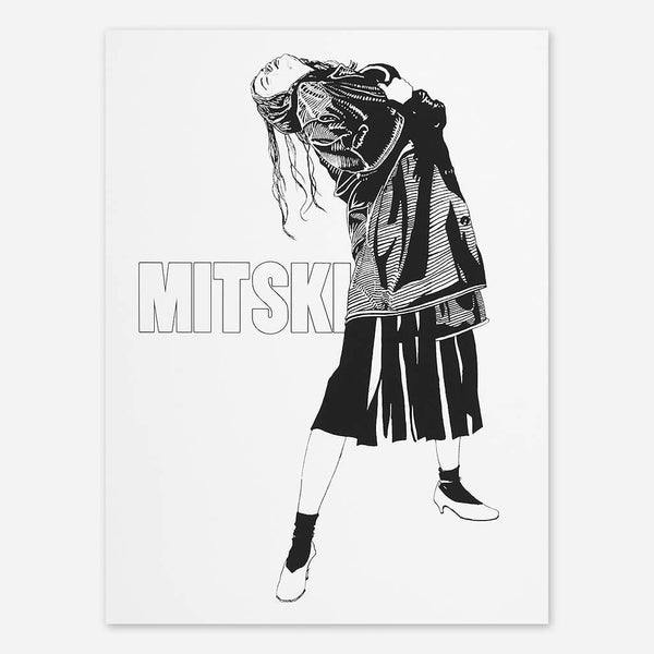 Happy Mistki Poster by Mitski for sale on hellomerch.com