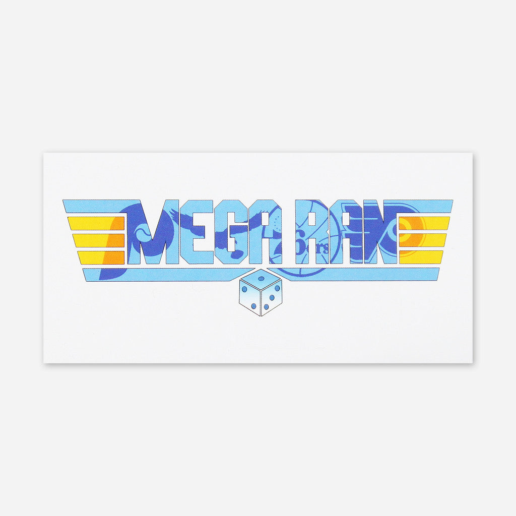 Dice Logo Sticker - Mega Ran - Hello Merch