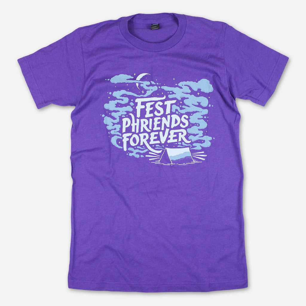 Fest Phriends Forever Purple T-Shirt - Earphunk - Hello Merch