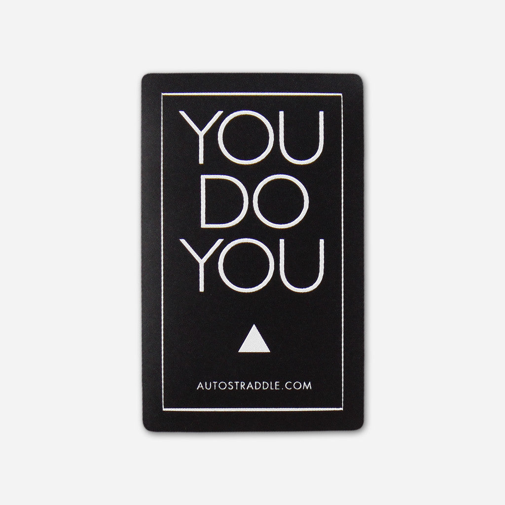 You Do You Fundraising Sticker