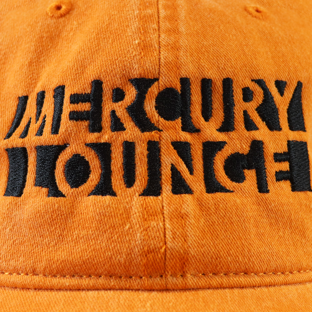 Mercury Lounge Orange Dad Hat