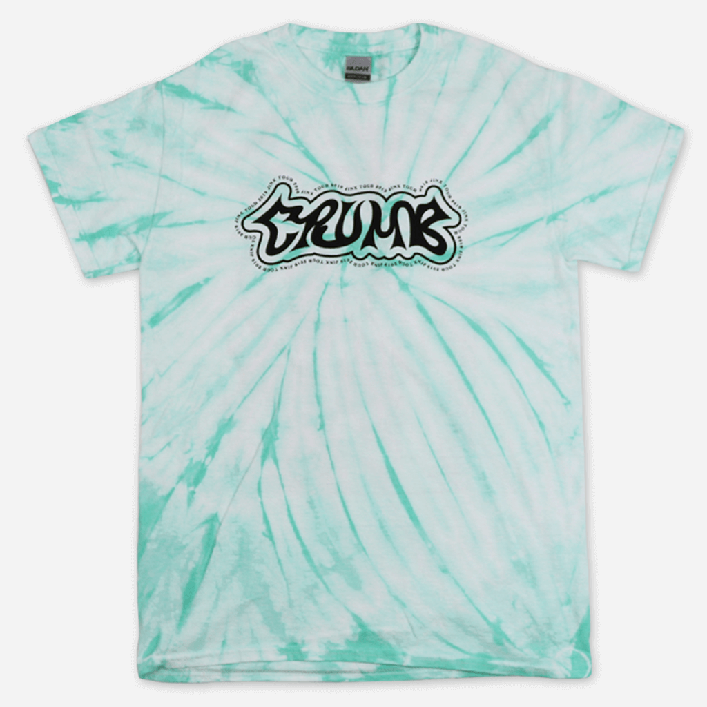 Jinx Tour Mint Tie Dye T-Shirt