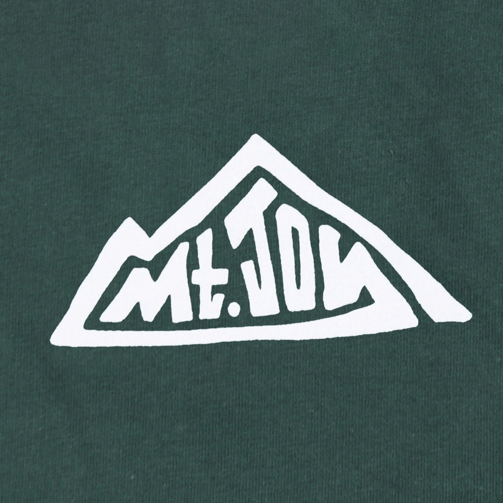 Mountain Forest Green Pullover Hoodie