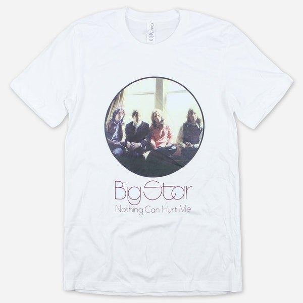 Big Star - Nothing Can Hurt Me White T-Shirt by Ardent Music for sale on hellomerch.com