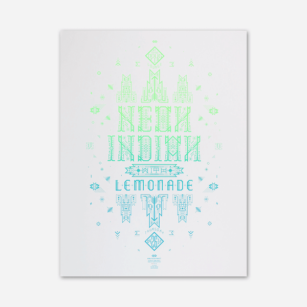2012 Doug Fir Lounge / Portland OR Poster by Neon Indian for sale on hellomerch.com