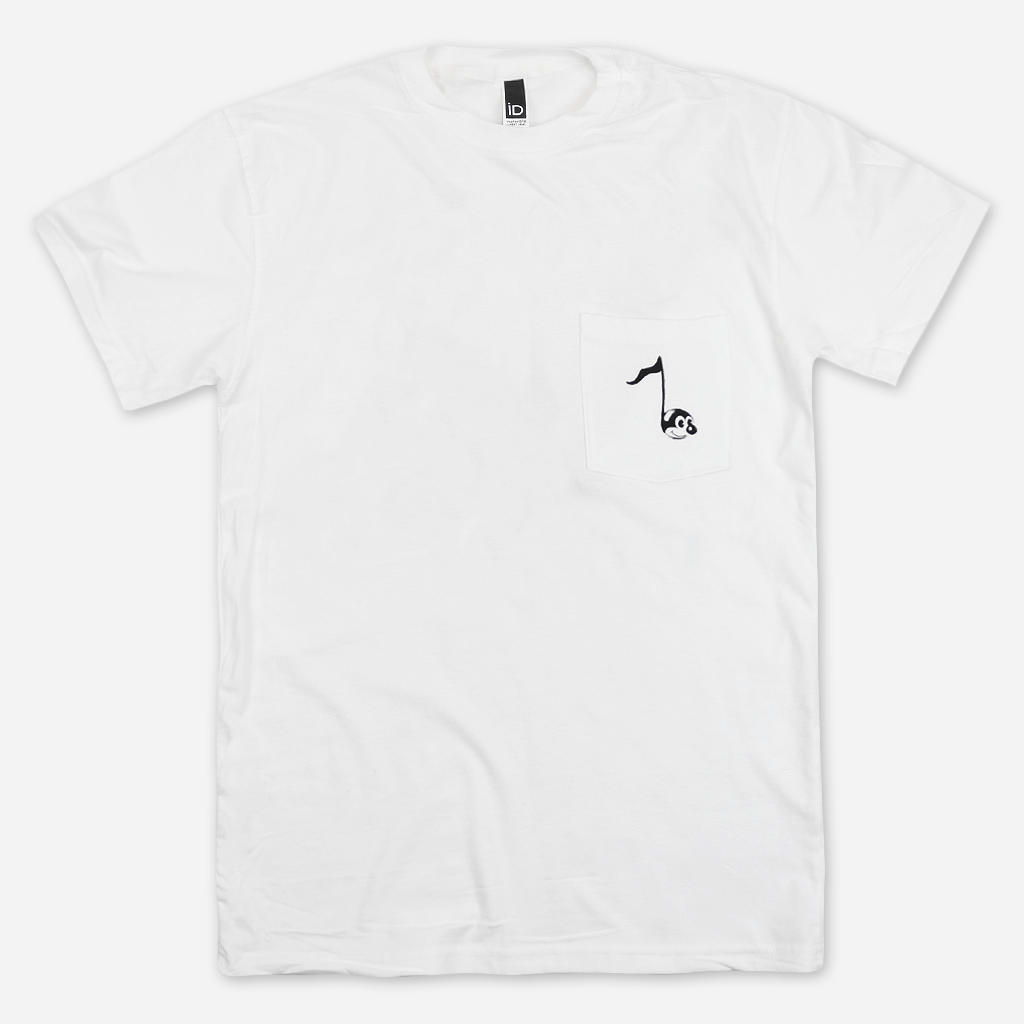 Annie Note White Pocket T-Shirt