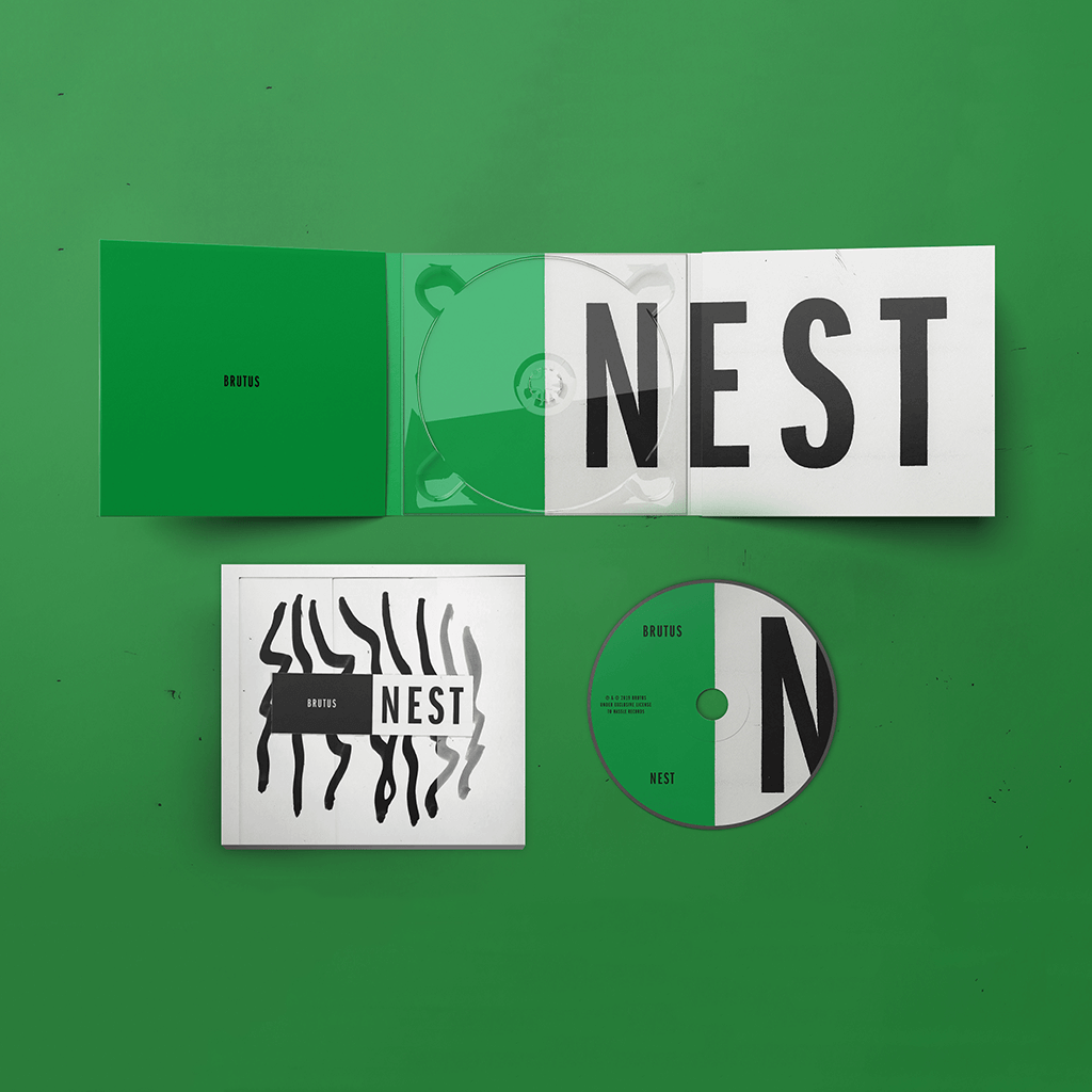 NEST CD - BRUTUS - Hello Merch
