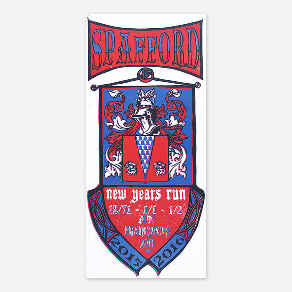 New Year's 2015-2016 Poster by Spafford for sale on hellomerch.com