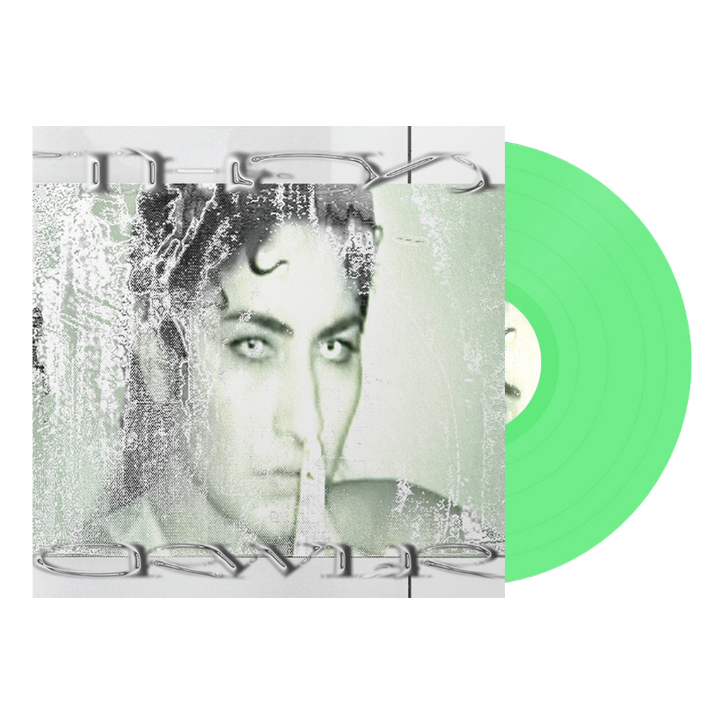 "NGHTCRWLR - ""Let The Children Scream"" Neon Green 12"" Vinyl"