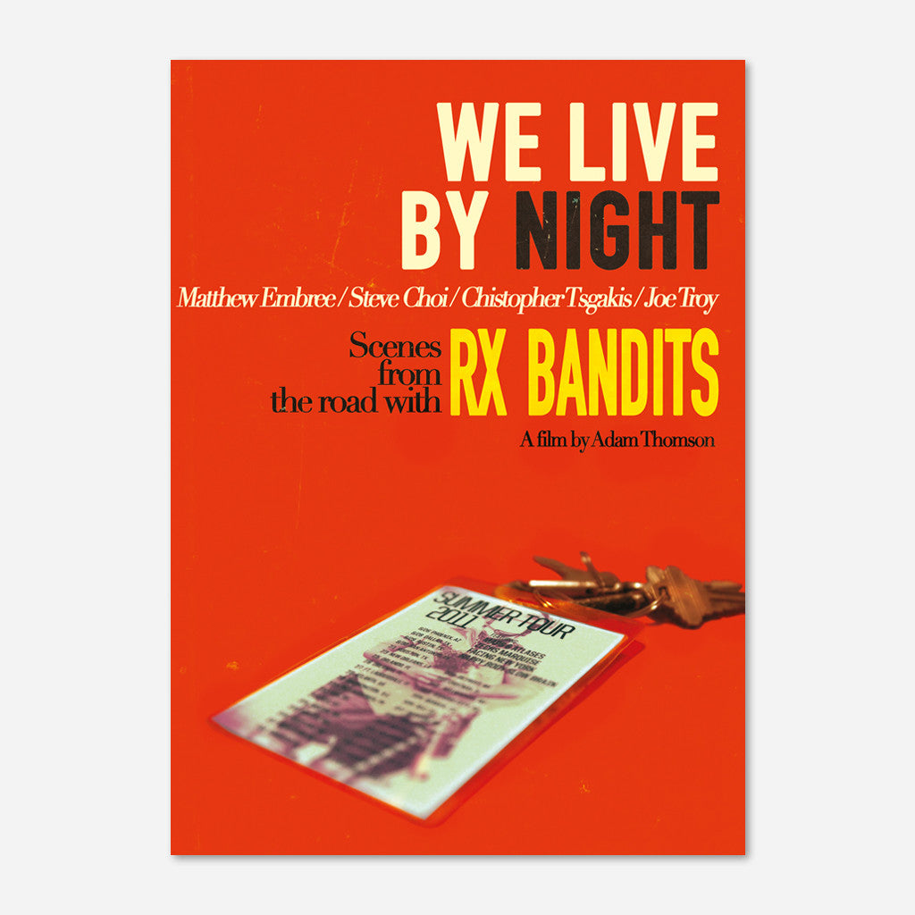 RX Bandits Live Vol 2. : Inside a Glass House + We Live By Night DVD Bundle - RX Bandits (Band) - Hello Merch