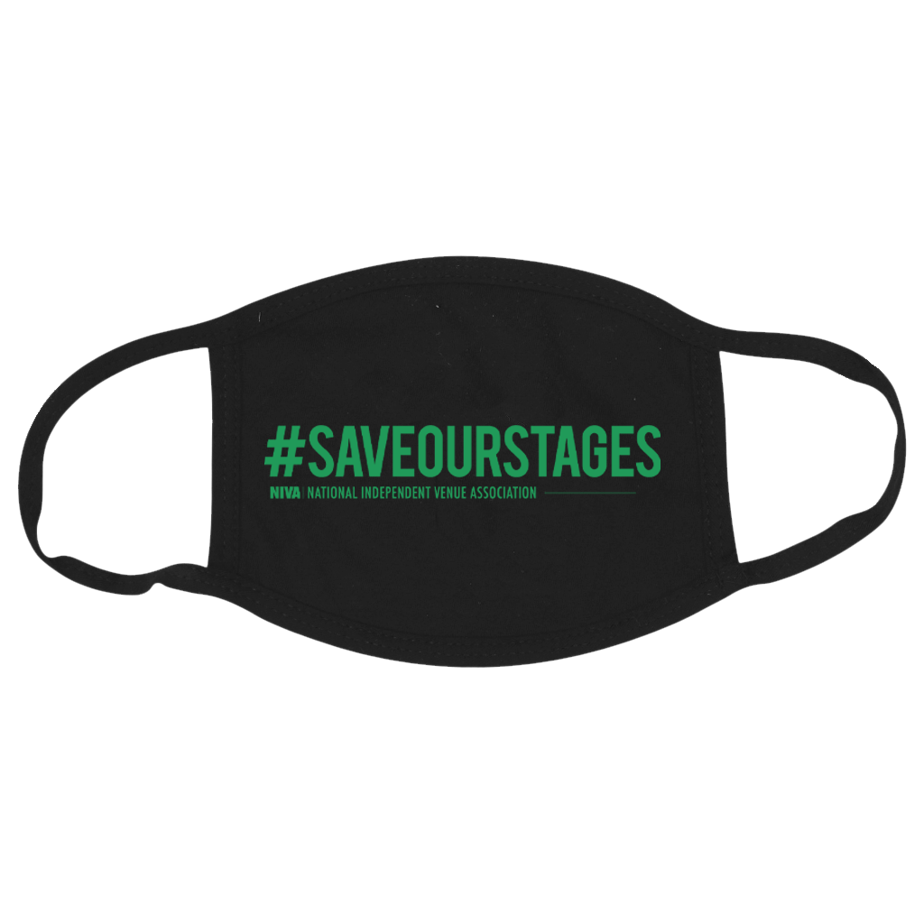 #SAVEOURSTAGES Mask