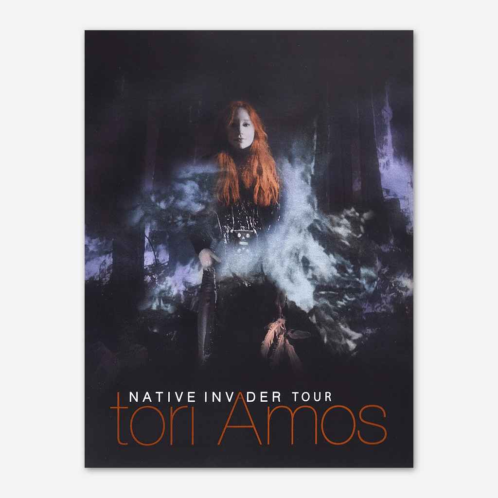Native Invader Tour Lithograph