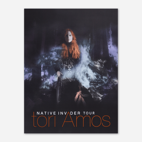 Native Invader Tour Lithograph by Tori Amos for sale on hellomerch.com