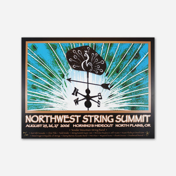 2006 Poster by Northwest String Summit for sale on hellomerch.com
