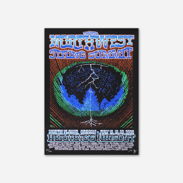 2008 Poster by Northwest String Summit for sale on hellomerch.com