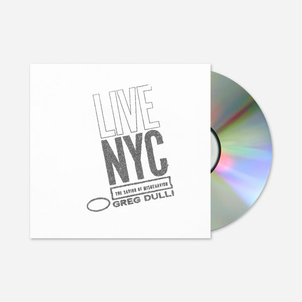 Live In NYC CD by Greg Dulli for sale on hellomerch.com