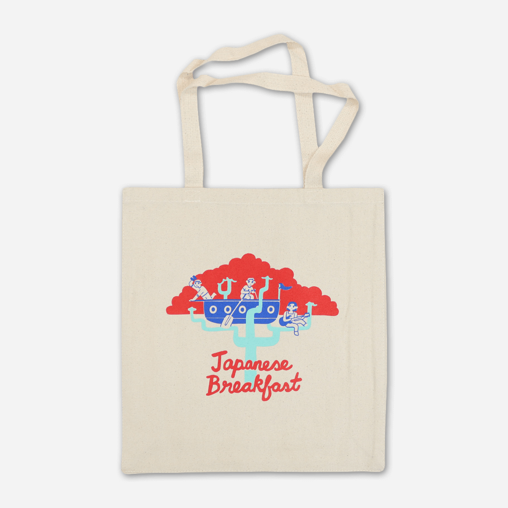 Ship Natural Tote Bag - Japanese Breakfast - Hello Merch